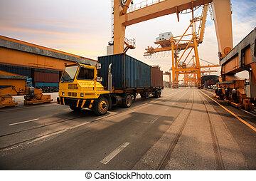 港, 容器