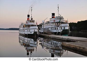港, 船, 古い, 2