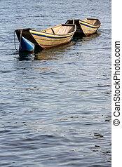湖, 小船