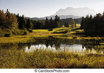 湖, 阿尔卑斯山