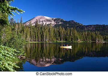 湖, 高山