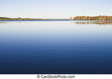 湖, automn