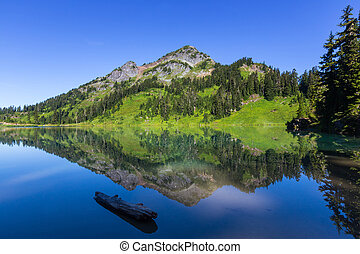 湖, twin