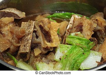 湯, 豬肉, 骨頭