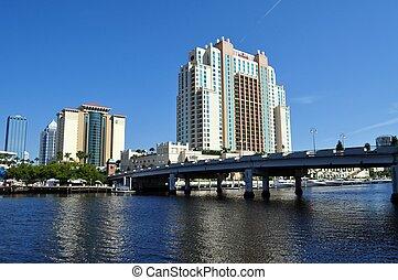 湾, フロリダ, タンパ
