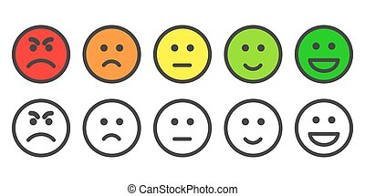 満足, レート, レベル, emoji, アイコン