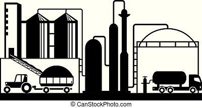 源, 生産, biogas, 農業