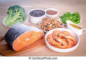 源, plant-based, 酸, 動物, omega-3