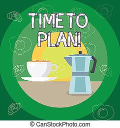 準備, 写真, 得ること, もの, 提示, 時間, 印, solutions., plan., 他, テキスト, 準備ができた, 概念, 考えなさい