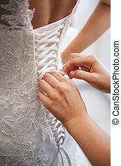 準備, 結婚式