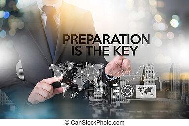 準備, 能力を発揮しなさい, 計画, ありなさい, キー, 準備しなさい, , 準備された, ビジネス 概念