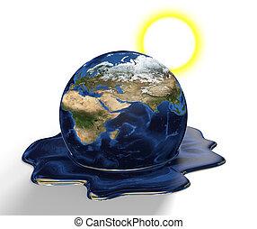 溶けること, 概念, 地球