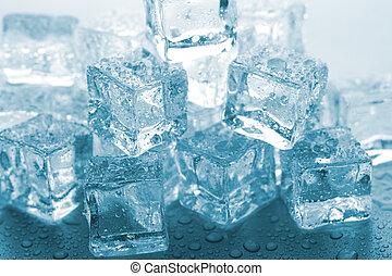 溶けること, 氷