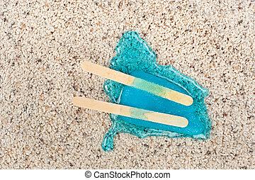 溶けること, carpet., popsicle