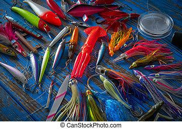 滑車, 彙整, 釣魚, minnows, 引誘