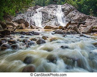 滝, ジャングル