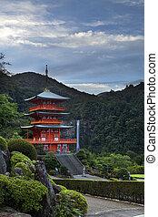 滝, 寺院