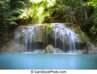 滝, erawan
