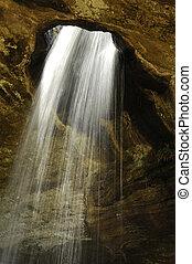 滝, holes., 流れ