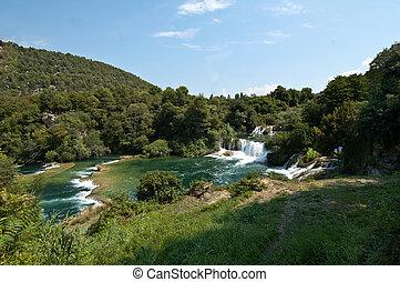 滝, krka