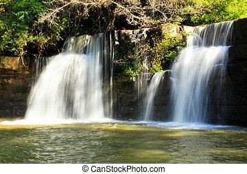 滝, thailand.