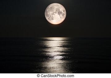 滿月, 上, 海