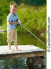 漁師, わずかしか