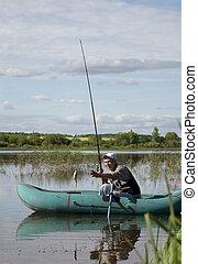 漁師, シニア