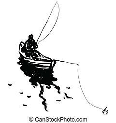 漁師, ボート