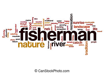 漁師, 単語, 雲