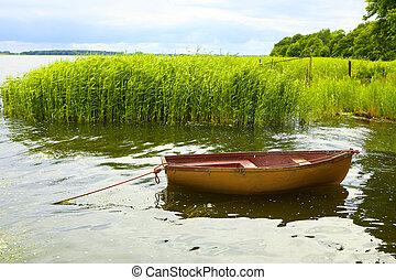 漁船, 湖