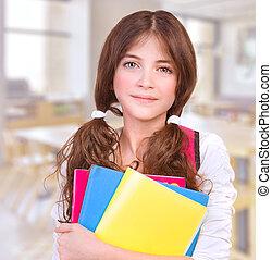 漂亮, 在學校的女孩