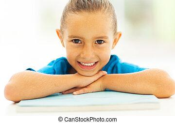 漂亮, 小女孩, 人物面部影像逼真, 肖像
