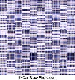 漂白された, 接続される, 染料, textile., 混乱させられた, 幾何学的, デジタル, 編まれる, 抵抗しなさい, 交差点, 最新流行である, criss, ギンガム, 点検, 壊される, swatch., ストライプ, ファッション, パターン, 紫色, seamless, 色, バックグラウンド。, 色とりどりである, 線