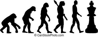 演化, 國際象棋