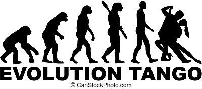 演化, 探戈舞