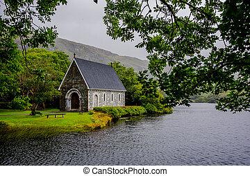 演講術, 在下面, 湖, 在, 愛爾蘭