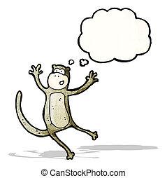 漫画, サル