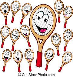 漫画, テニスラケット