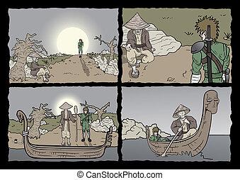 漫画, ページ