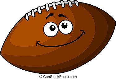 漫画, ボール, ラグビー, 幸せ, ∥あるいは∥, フットボール