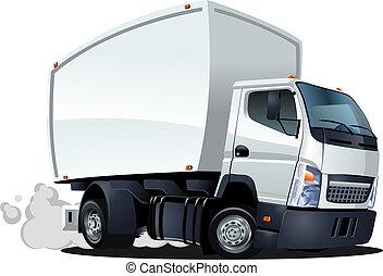 漫画, 出産, /, 貨物 トラック