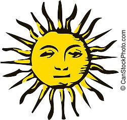 漫画, 太陽