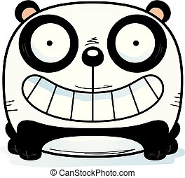 漫画, 幸せ, パンダ, 幼獣