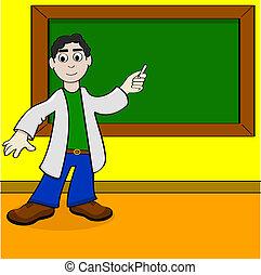漫画, 教師