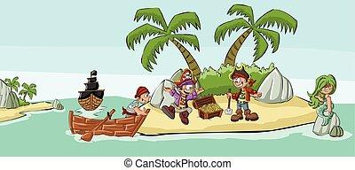 漫画, 海賊