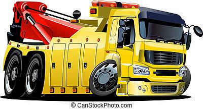 漫画, 牽引 トラック