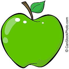 漫画, 緑のリンゴ