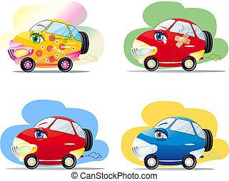 漫画, 自動車