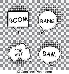 漫画, 表現, アイコン